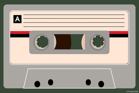 Wall Art, Vintage Cassette, - PosterGully