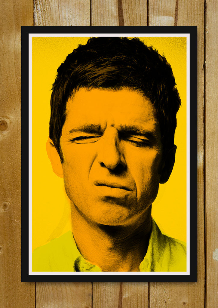 NOEL GALLAGHER BASED POSTER  SIZE A4