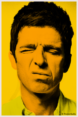 Wall Art, Vintage Noel Gallagher - Oasis, - PosterGully