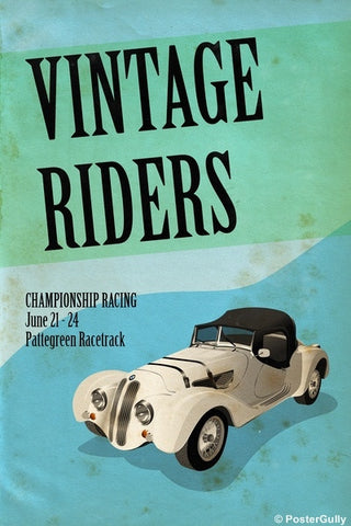 Wall Art, Vintage Riders | Vintage Racing, - PosterGully