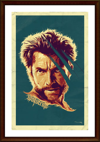 Wall Art, Wolverine Artwork, - PosterGully