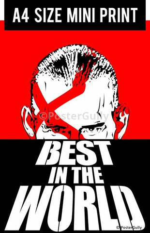 Mini Prints, WWE | CM Punk | Dawn Of The Dead | Mini Print, - PosterGully