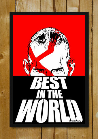 Glass Framed Posters, WWE CM Punk Dawn Of The Dead | Glass Framed Poster, - PosterGully - 1