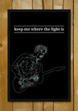 Glass Framed Posters, Where The Light Is John Mayer Glass Framed Poster, - PosterGully - 1