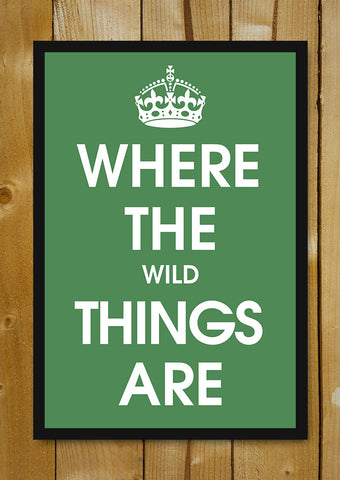 Glass Framed Posters, Where The Wild Things Are Glass Framed Poster, - PosterGully - 1