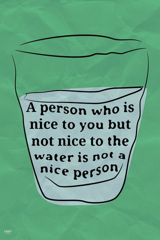 Wall Art, Who Is The Nice Person?, - PosterGully