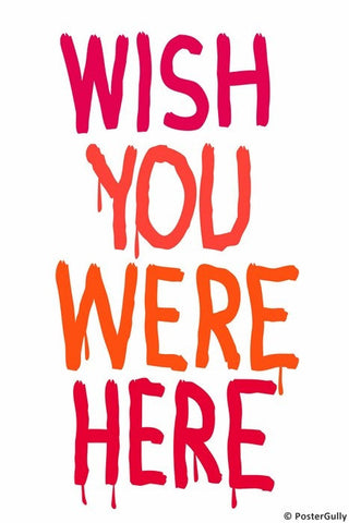 Wall Art, Wish You Were Here | Pink Floyd, - PosterGully