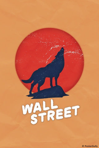 Wall Art, Wolf Of The Wall Street | Grunge, - PosterGully