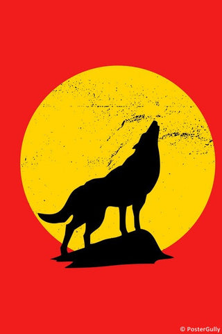 Wall Art, Wolf, - PosterGully