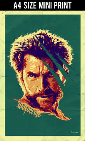 Mini Prints, Wolverine Artwork | Mini Print, - PosterGully