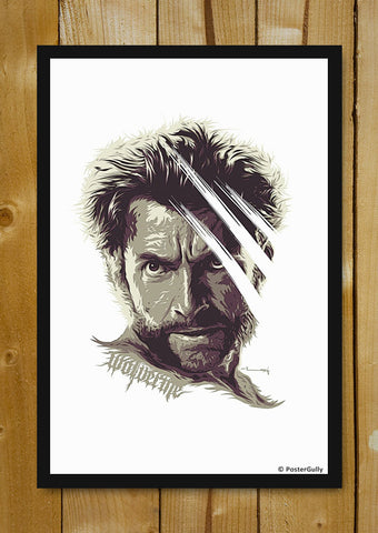 Glass Framed Posters, Wolverine Matte Raj Khatri | Glass Framed Poster, - PosterGully - 1