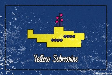 Wall Art, Yellow Submarine | Beatles, - PosterGully