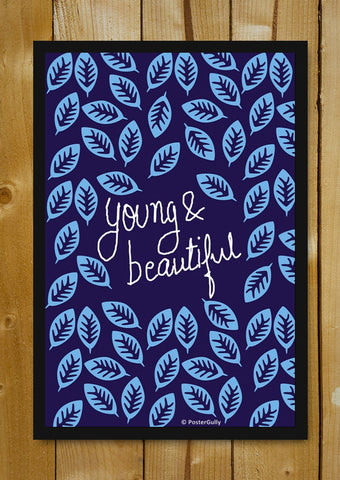 Glass Framed Posters, Young And Beautiful | Lana Del Rey | Glass Framed Poster, - PosterGully - 1