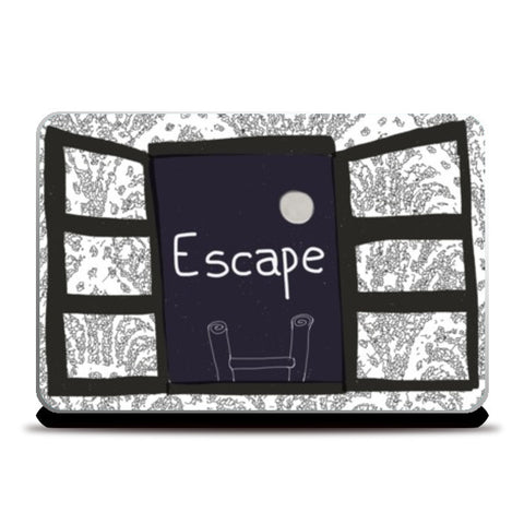 Laptop Skins, Escape Laptop Skins | Artist : saurabhzuve, - PosterGully