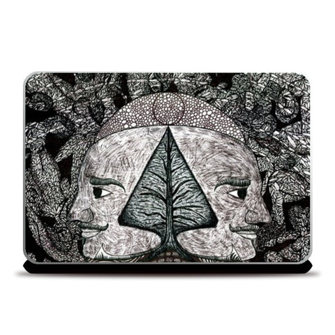 Laptop Skins, Dreams of the Post Apocalyptic Vol.I Laptop Skins | Artist : Luke's Art Voyage, - PosterGully