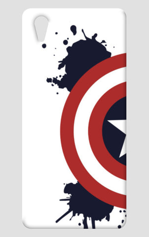 Paint Splatter Captain America One Plus X Cases | Artist : designoholic0211