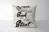 Coldplay Scientist Cushion Cover | Nikhil Lokhande