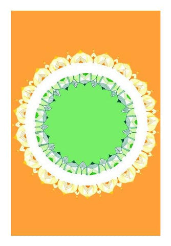 PosterGully Specials, Mandala Art | Republic Day Wall Art | Artist : Amulya Jayapal, - PosterGully