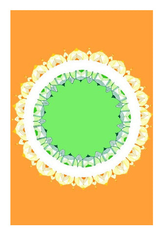 Mandala Art | Republic Day Wall Art | Artist : Amulya Jayapal