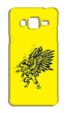 Mythology Bird Samsung Galaxy J3 2016 Cases | Artist : Inderpreet Singh