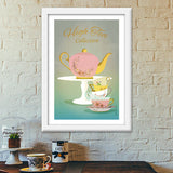 Premium Italian Wooden Frames, High Tea Collection Premium Italian Wooden Frames | Artist : Sanyukta bhatnagar, - PosterGully - 6