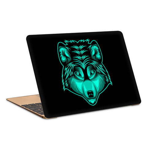 Wolf Head Artwork Laptop Skin