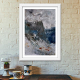 abstract 0607 Premium Italian Wooden Frames | Artist : pol ledent