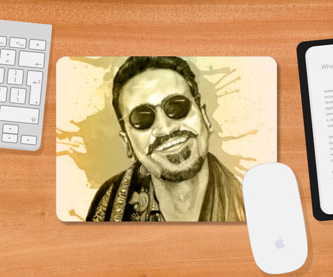 Danush - Maari(Watercolor) Mousepad | Artist : Sandeep Narayan