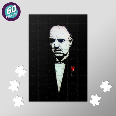 The Godfather | Vivek Aind Jigsaw Puzzles | Artist : Vivek Aind