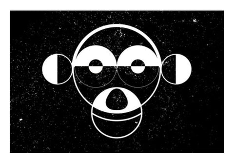 Monkey Zodiac Sign  Art PosterGully Specials