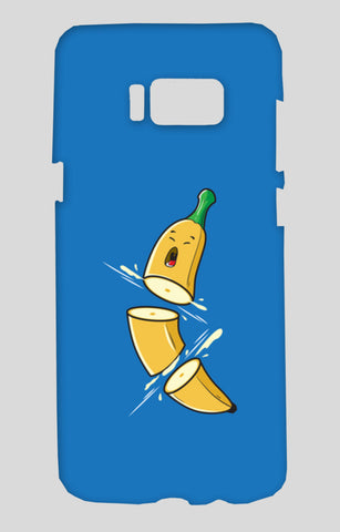 Sliced Banana Samsung Galaxy S8 Cases | Artist : Inderpreet Singh