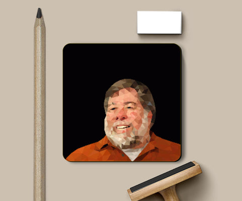 Coasters, Steve Wozniak Coaster | Gagandeep Singh, - PosterGully