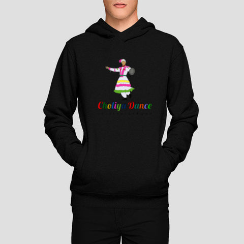 Choliya Dance of Uttarakhand Hoodies | Artist : Tripund Media Works