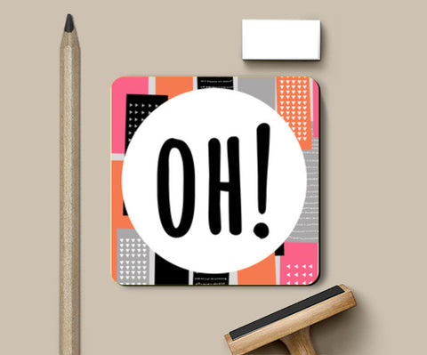 Coasters, Oh! Coasters | Artist : art_riot, - PosterGully
