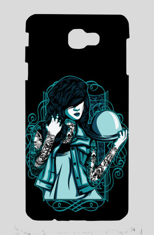 Woman With Tattoos Samsung J7 Prime Cases | Artist : Inderpreet Singh