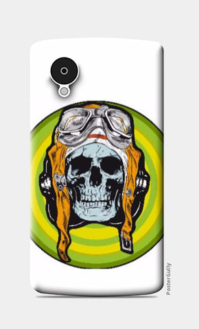 Nexus 5 Cases, Pilot Skull Nexus 5 Case | Md Hafiz Shaikh, - PosterGully