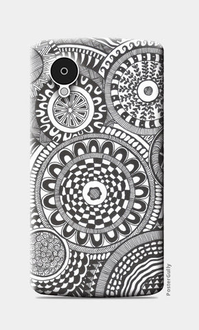 Prints in Circles Nexus 5 Cases | Artist : Aniket Mitra