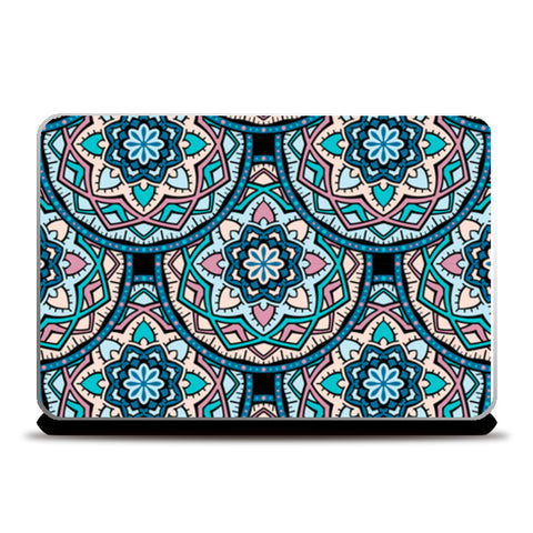 Multi Pattern With Indian Classic Touch Laptop Skins | Artist : Creative DJ