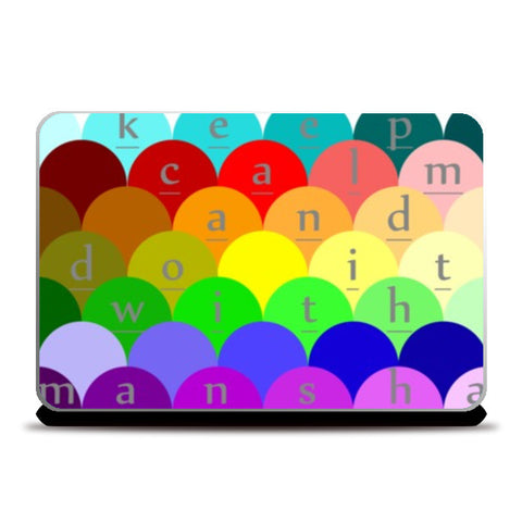 Laptop Skins, colorful Laptop Skins | Artist : manshaa, - PosterGully
