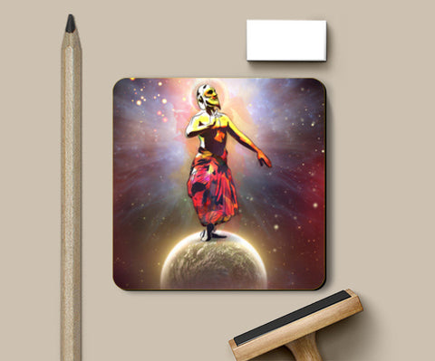 Dance Above The Surface  Of The World Coasters | Artist : Archana Aravind