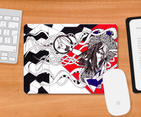 keepROCKing Mousepad | Artist : akash biyani