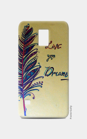 Samsung S5 Cases, Dreams Samsung S5 Cases | Artist : Kriti Pahuja, - PosterGully