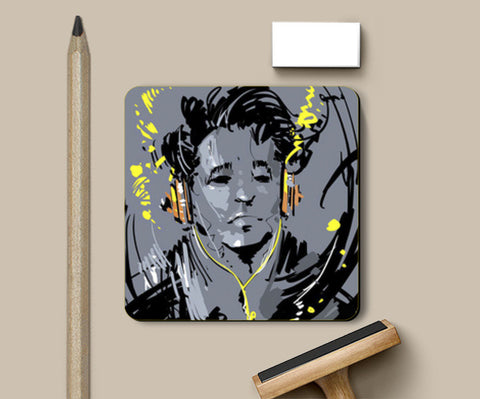 Coasters, Music Coaster | Rishi Singh, - PosterGully