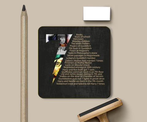 Coasters, Harry Potter Coasters | Artist : madhura chalke, - PosterGully
