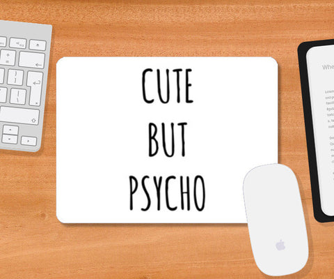 Cute But Psycho Minimal Mousepad | Artist : Gub Gub