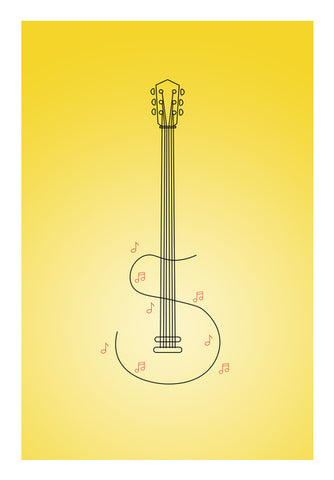 S for Sangeet Wall Art | Artist : Harshavardhan Kore