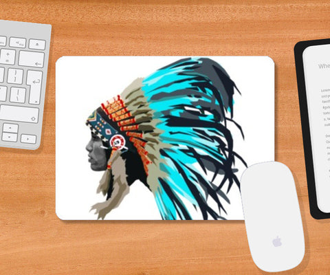 Mousepad, Blue Chief Mousepad | Artist : sigsin, - PosterGully