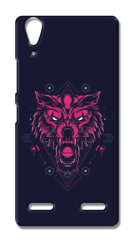 The Wolf Lenovo A6000 Cases | Artist : Inderpreet Singh
