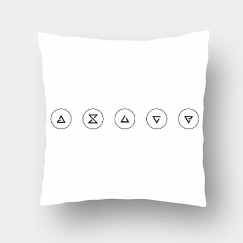 Cushion Covers, Witcher Insignias | Artist: GamingMonk, - PosterGully