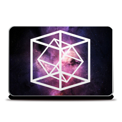 Laptop Skins, Cosmic geometry Laptop Skins | Artist : Keepcalm Prints, - PosterGully